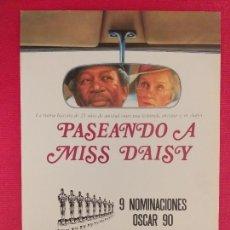 Cine: GUIA SIMPLE: PASEANDO A MISS DAISY. BRUCE BERESFORD, MORGAN FREEMAN, JESSICA TANDY, DAN AYKROYD. Lote 262909805