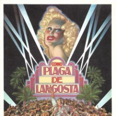 Cine: COMO PLAGA DE LANGOSTA.. Lote 264796559
