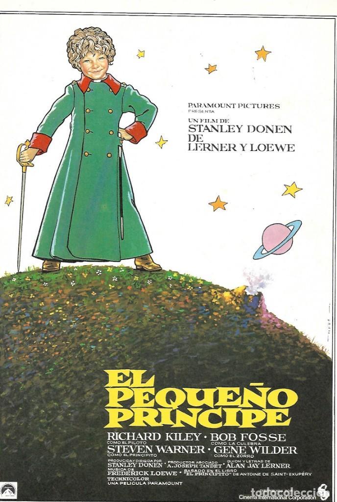 EL PEQUEÑO PRÍNCIPE. DIRIGIDA POR STANLEY DONEN (Cine - Guías Publicitarias de Películas )