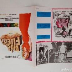 Cinema: ANTIGUA GUIA PUBLICITARIA CINE LA DIOSA DE FUEGO JANO G178 RV. Lote 267885264