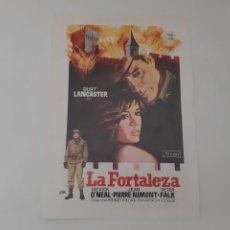 Cinema: ANTIGUA GUIA PUBLICITARIA CINE LA FORTALEZA BURT LANCASTER JANO G239 RV. Lote 268448234