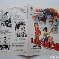 Cinema: ANTIGUA GUIA PUBLICITARIA CINE LA FLACA JANO G252 RV. Lote 268464734