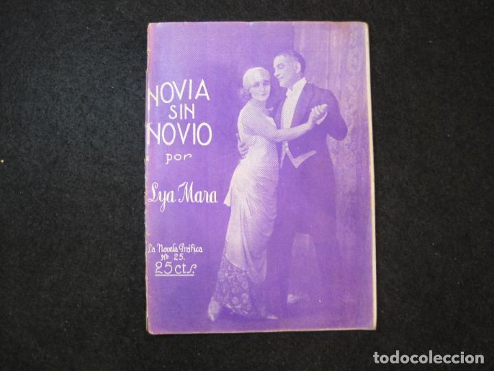 NOVIA SIN NOVIO-LYA MARA-LA NOVELA GRAFICA-VER FOTOS-(K-3305) (Cine - Guías Publicitarias de Películas )