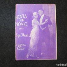 Cine: NOVIA SIN NOVIO-LYA MARA-LA NOVELA GRAFICA-VER FOTOS-(K-3305). Lote 269312733