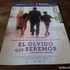 Cine: EL OLVIDO QUE SEREMOS - JAVIER CAMARA, PATRICIA TAMAYO, FERNANDO TRUEBA - GUIA ORIGINAL BTEAM 2020. Lote 269320718