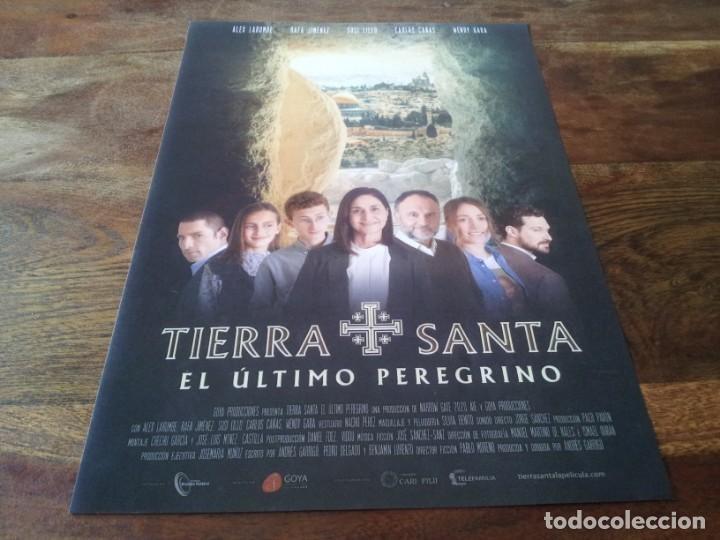 TIERRA SANTA EL ÚLTIMO PEREGRINO - ALEX LARUMBE,RAFA JIMÉNEZ,SUSI LILLO - GUIA ORIGINAL DREAMS 2021 (Cine - Guías Publicitarias de Películas )