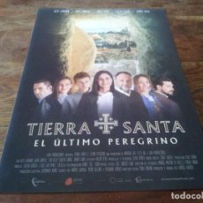 Cine: TIERRA SANTA EL ÚLTIMO PEREGRINO - ALEX LARUMBE,RAFA JIMÉNEZ,SUSI LILLO - GUIA ORIGINAL DREAMS 2021. Lote 269320983