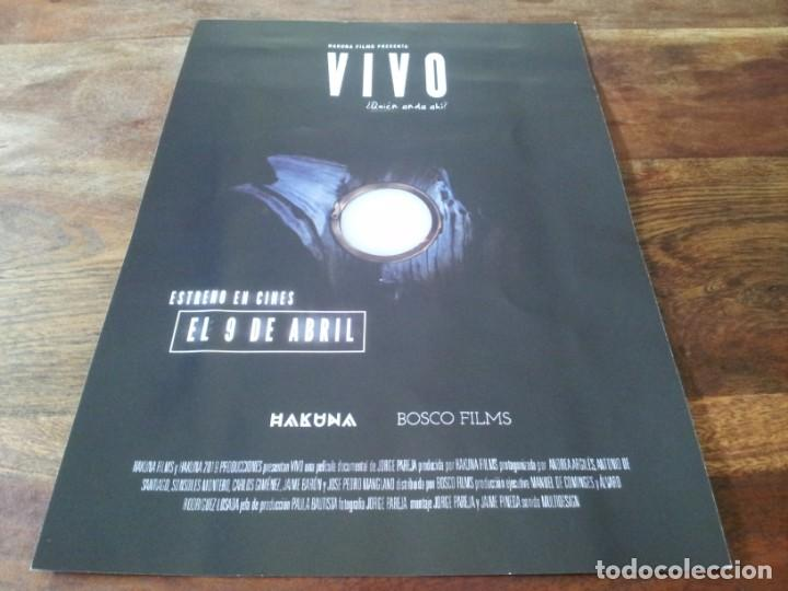 VIVO - ANDREA ARGILES, ANTONIO DE SANTIAGO, JORGE PAREJA - GUIA ORIGINAL BOSCO 2021 (Cine - Guías Publicitarias de Películas )