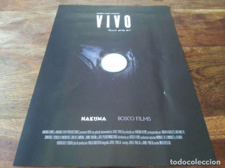 Cine: Vivo - Andrea Argiles, Antonio de Santiago, Jorge Pareja - guia original bosco 2021 - Foto 2 - 269321128