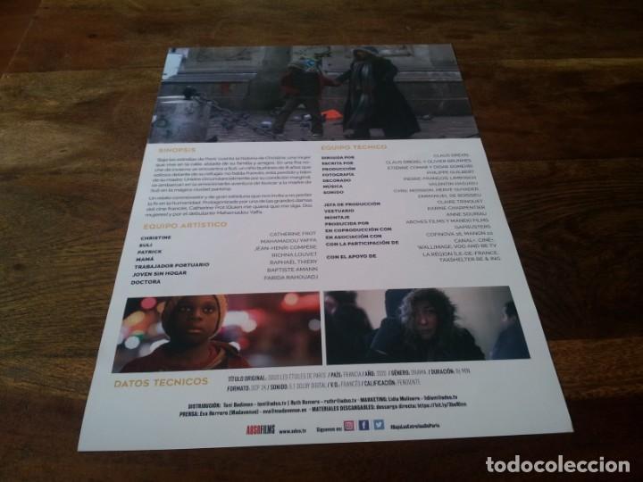 Cine: Bajo las estrellas de París - Catherine Frot,Dominique Frot,Mahamadou Yafa - guia original adso 2020 - Foto 2 - 269321288