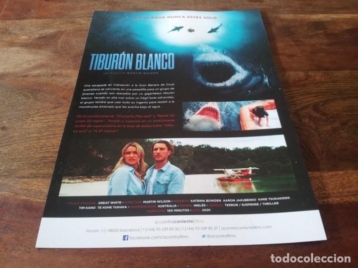 Cine: Tiburon blanco - Katrina Bowden, Aaron Jakubenko, Tim Kano - guia original acontra 2021 - Foto 2 - 269321378