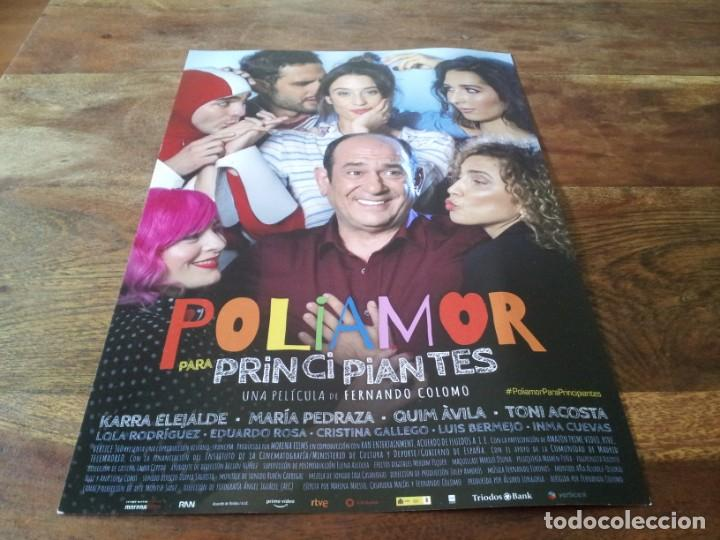 POLIAMOR PARA PRINCIPIANTES - KARRA ELEJALDE, TONI ACOSTA,MARIA PEDRAZA - GUIA ORIGINAL VERTICE 2021 (Cine - Guías Publicitarias de Películas )