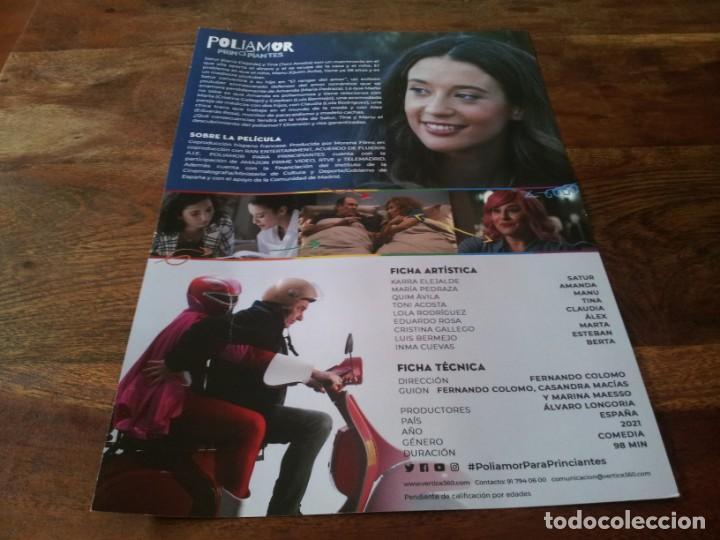 Cine: Poliamor para principiantes - Karra Elejalde, Toni Acosta,Maria Pedraza - guia original vertice 2021 - Foto 2 - 269321468