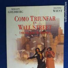 Cine: GUIA ORIGINAL SIMPLE. COMO TRIUNFAR EN WALL STREET. CON: WHOOPI GOLDBERG Y DIANNE WIEST. Lote 274171503