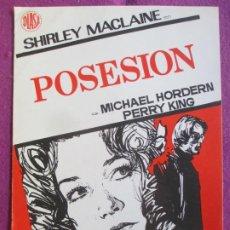 Cine: GUIA PUBLICITARIA CINE POSESION MICHAEL HORDERN SHIRLEY MACLAINE G1045. Lote 276776568