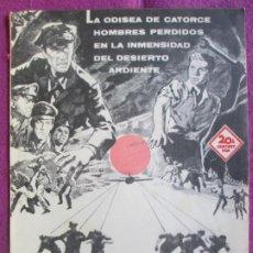 Cine: GUIA PUBLICITARIA CINE EL VUELO DEL FENIX JAMES STEWART RICHARD ATTEMBOROUGH G1046. Lote 276776733