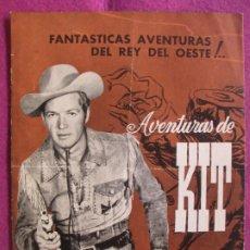 Cine: GUIA PUBLICITARIA CINE LAS AVENTURAS DE KIT CARSON BILL WILLIAMS DON DIAMOND G1049. Lote 276777798