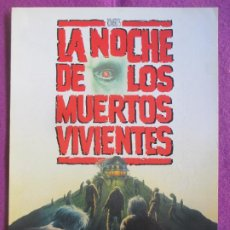 Cine: GUIA PUBLICITARIA CINE LA NOCHE DE LOS MUERTOS VIVIENTES TONY TOOD G1087. Lote 277589123