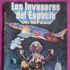 Cine: GUIA PUBLICITARIA CINE LOS INVASORES DEL ESPACIO VIC MORROW SONNY CHIBA G1089. Lote 277589873