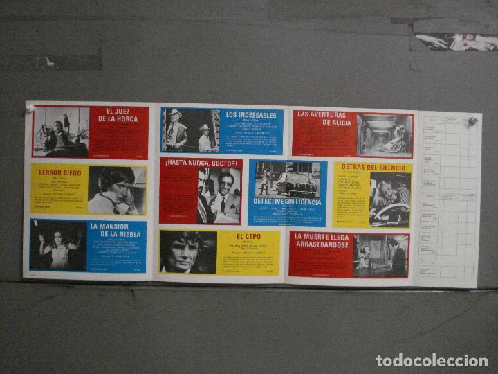 G9330 LISTA DE MATERIAL ORIGINAL MUNDIAL FILM 1972-73 PAUL NEWMAN PETER SELLERS ANALIA GADE TERROR (Cine - Guías Publicitarias de Películas )