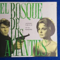 Cine: GUIA DOBLE: EL BOSQUE DE LOS AMANTES. CON: LAURENT TERZIEFF, ERIKA REMBERG.. Lote 277711863