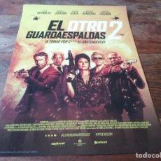 Cine: EL OTRO GUARDAESPALDAS 2 - RYAN REYNOLDS,SAMUEL L. JACKSON,SALMA HAYEK - GUIA ORIGINAL VERTICE 2021. Lote 278415758