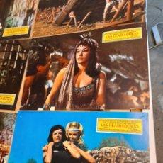 Cine: LOTE 8 CARTELES DE CINE : LAS GLADIADORAS ( SUSY ANDERSEN, JOE ROBINSON ). Lote 278976268