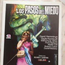 Cinéma: LOS PASOS DEL MIEDO. Lote 286142408