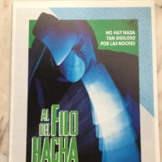 Cinéma: AL FILO DEL HACHA. Lote 286142698