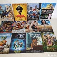 Cinéma: LOTE DE 12 GUÍAS DE CINE, INFANTÍL, VARIOS TÍTULOS, UNOS 31 X 22 CMS.. Lote 287149343