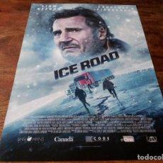Cinema: ICE ROAD - LIAM NEESON, LAURENCE FISHBURNE, AMBER MIDTHUNDER - GUIA ORIGINAL EONE 2021. Lote 287917038