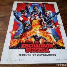 Cinema: EL ESCUADRÓN SUICIDA - IDRIS ELBA,MARGOT ROBBIE,JOEL KINNAMAN,JAMES GUNN - GUIA ORIGINAL WARNER 2021. Lote 287919388