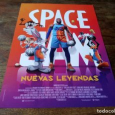 Cine: SPACE JAM NUEVAS LEYENDAS - ANIMACION, LEBRON JAMES,SONEQUA MARTIN-GREEN - GUIA ORIGINAL WARNER 2021. Lote 288006213