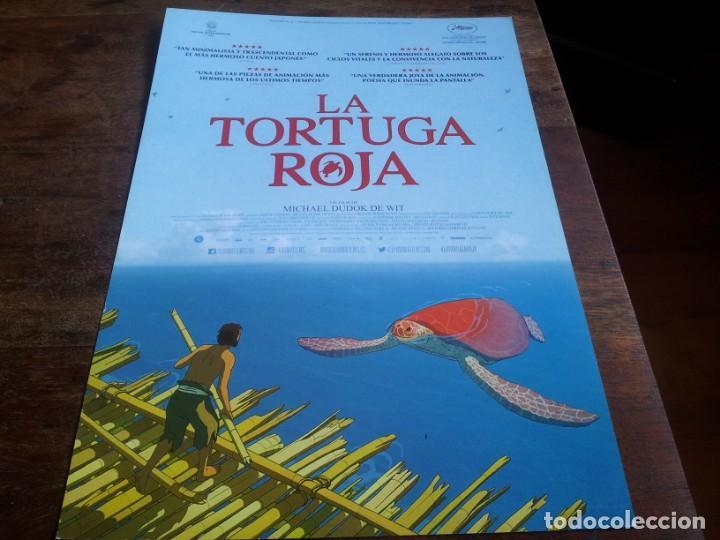 LA TORTUGA ROJA - ANIMACION - DIR. MICHAEL DUDOK DE WIT - GUIA ORIGINAL KARMA FILMS 2016 (Cine - Guías Publicitarias de Películas )