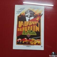 Cine: LA BATALLA DE BERLIN GUIA ORIGINAL M350. Lote 294566533