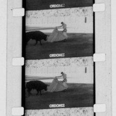 Cine - CORRIDA DE TOROS DE 16 MM, ORDOÑEZ Y OTROS TOREROS - 8898745