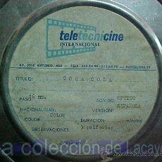 Cine: 3 PELICULAS DE COCA COLA COLOR ESPAÑOLAS ANTIGUAS. Lote 50115580