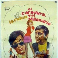 Cine: EL CARADURA, LA RUBIA Y EL MILLONARIO (1970 / GEORGE HAMILTON) LARGOMETRAJE. Lote 37580168