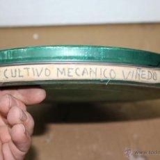 Cine: PELICULA ANTIGUA PARA PROYECTOR NILOGA 16MM. EL CULTIVO MECANICO DEL VIÑEDO 19 CMS. DE DIAMETRO.. Lote 46427098