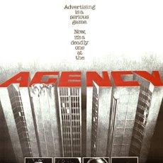 Cine: PELÍCULA DE CINE EN 16MM AGENCY (1980). Lote 50366545