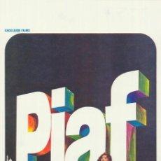 Cine: PELÍCULA DE CINE EN 16MM UNA VOZ LLAMADA EDITH PIAF (1974). Lote 50932769