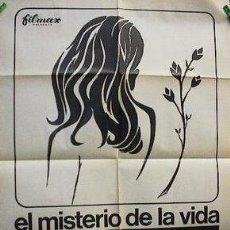 Cine: PELÍCULA LARGOMETRAJE DE CINE EN 16MM EL MISTERIO DE LA VIDA (1970). Lote 50935864