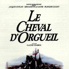 Cine: PELÍCULA DE CINE EN 16MM EL CABALLO DEL ORGULLO (V.O.S.) (1980). Lote 50936030