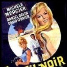 Cine: PELÍCULA DE CINE EN 16MM SOL NEGRO (1966). Lote 50950960