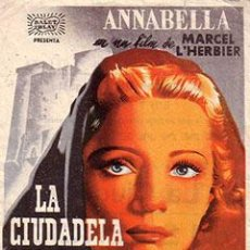 Cine: PELÍCULA DE CINE EN 16MM LA CIUDADELA DEL SILENCIO (1937). Lote 50956923