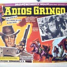 Cine: ADIOS GRINGO. Lote 93131795