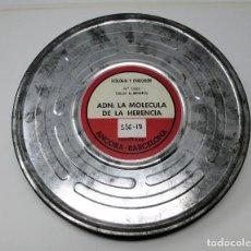 Cine: BOBINA DE CINE DE 16 MM. CON DOCUMENTAL - ADN - LA MOLÉCULA DE LA HERENCIA.. Lote 111694755