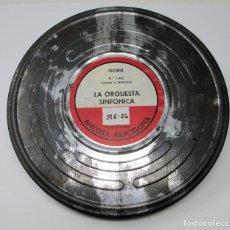 Cine: BOBINA DE CINE DE 16 MM. CON DOCUMENTAL - LA ORQUESTA SINFÓNICA.. Lote 111695291