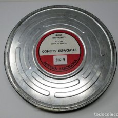 Cine: BOBINA DE CINE DE 16 MM. CON DOCUMENTAL - COHETES ESPACIALES. Lote 111695515