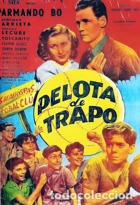 PELÍCULA DE CINE EN 16MM DRAMA SOBRE EL CÉSPED (PELOTA DE TRAPO) (1948) (Cine - Películas - 16 mm)